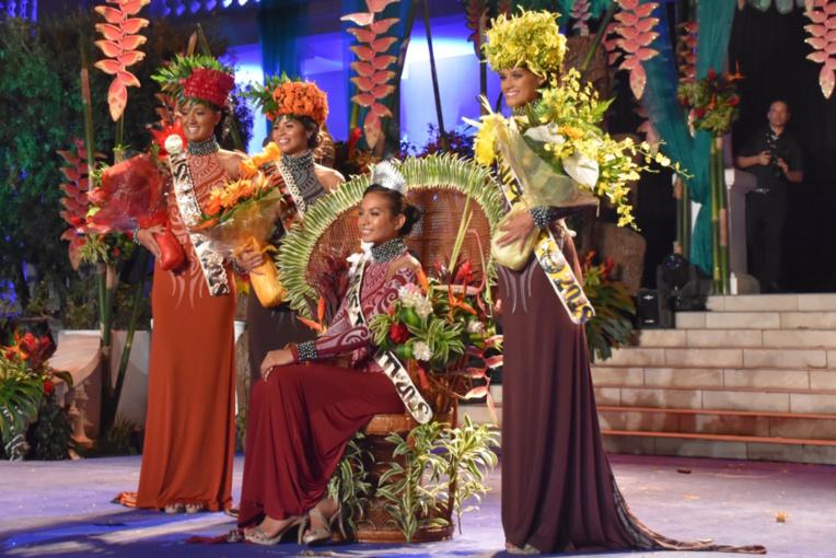 Vaimalama Chaves est la nouvelle miss Tahiti