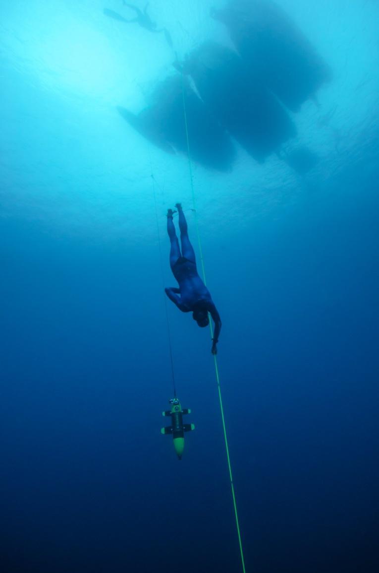Belle 4e place pour l'apnéiste de Moorea Denis Grosmaire © Azur Diving