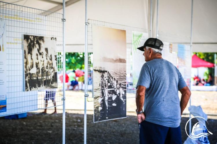 """"""" Une exposition pour mieux connaitre l'histoire du va'a """""""