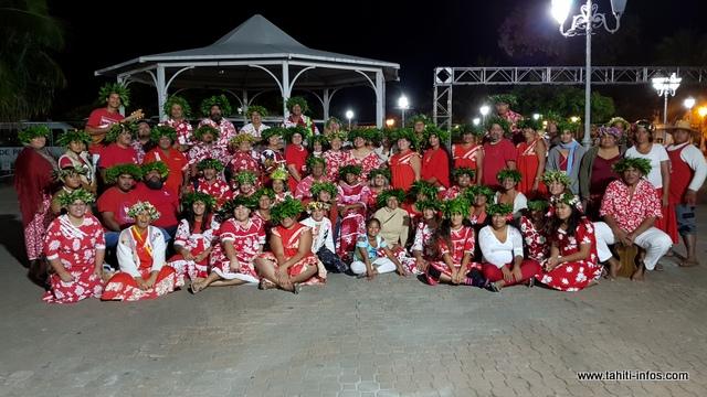 81 chanteurs porteront la voix de Vairao, mercredi soir à To'atā.