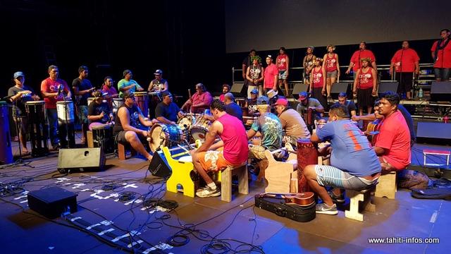 L'orchestre est composé de 35 membres.