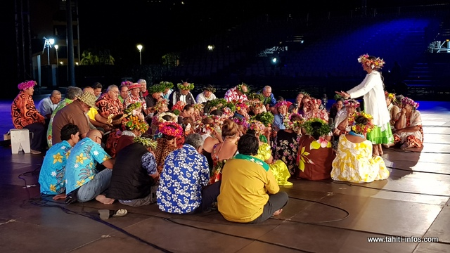 "80 chanteurs composeront la troupe ""Tamari'i Mahina."