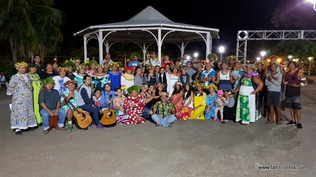 """Heiva i Tahiti : """"Te Pare o Tahiti Aea"""" parlera des deux coraux légendaires de Pueu"""