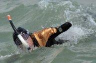 Le nageur amputé des quatre membre a réussi à traverser la Manche