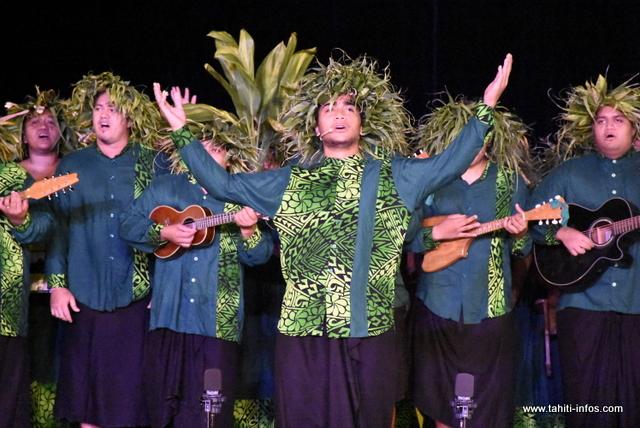 "La prestation de ""Te Noha nō Rotui"" en photos"