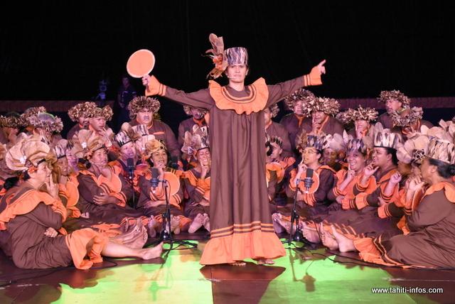 "Heiva i Tahiti : la prestation de ""Tamari'i Mahina"" en photos"