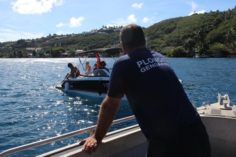 Opération de contrôle des usagers de la mer