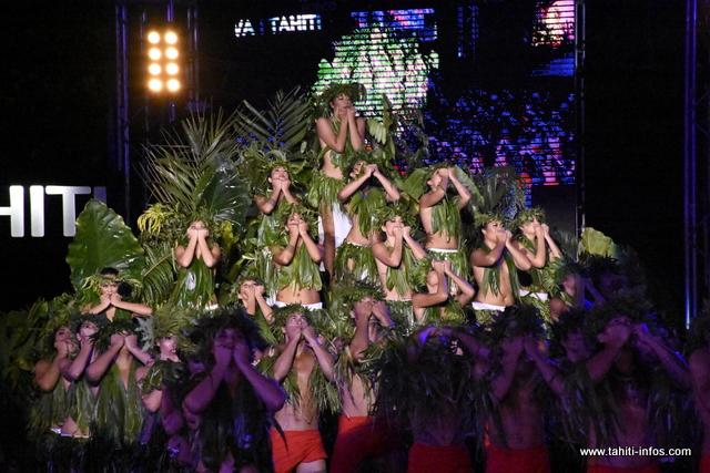 La prestation de Hei Tahiti en photos