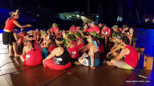 "Heiva i Tahiti : ""Tama nō Aimeho Nui"" chantera la légende des deux oies aux yeux perçants"