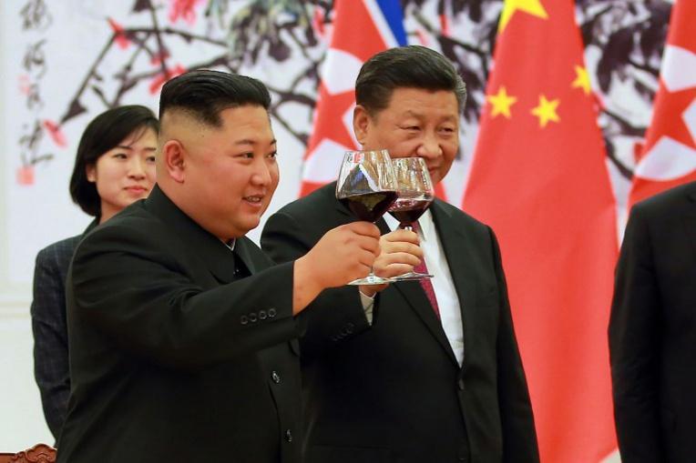 Photo : KCNA VIA KNS / AFP