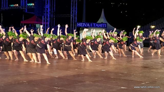 Plus de 160 danseurs représenteront cette troupe de danse, vendredi soir, à To'atā.