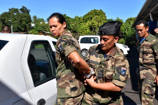 Gendarmerie : les nouveaux réservistes en formation