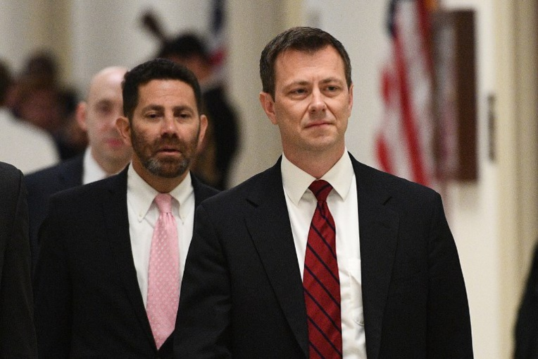 Peter P. Strzok, le 27 janvier 2018. Photo : MANDEL NGAN / AFP
