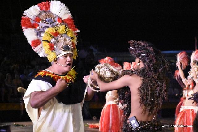 Le spectacle de Natihau en photos