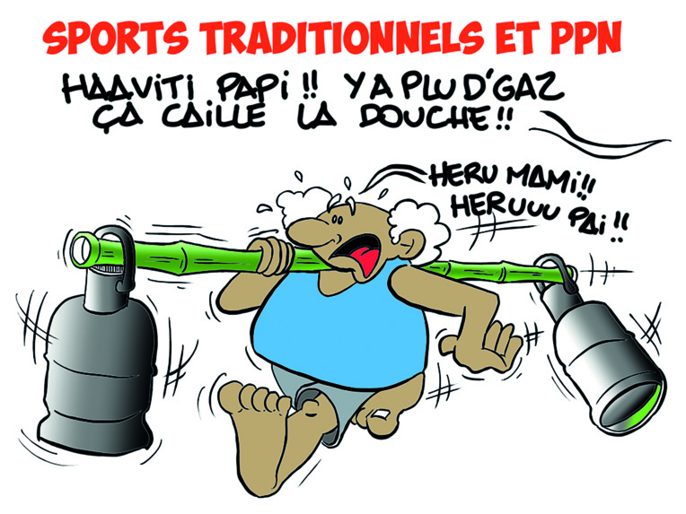 """ Entre sports traditionnels et PPN "" vu par Munoz"