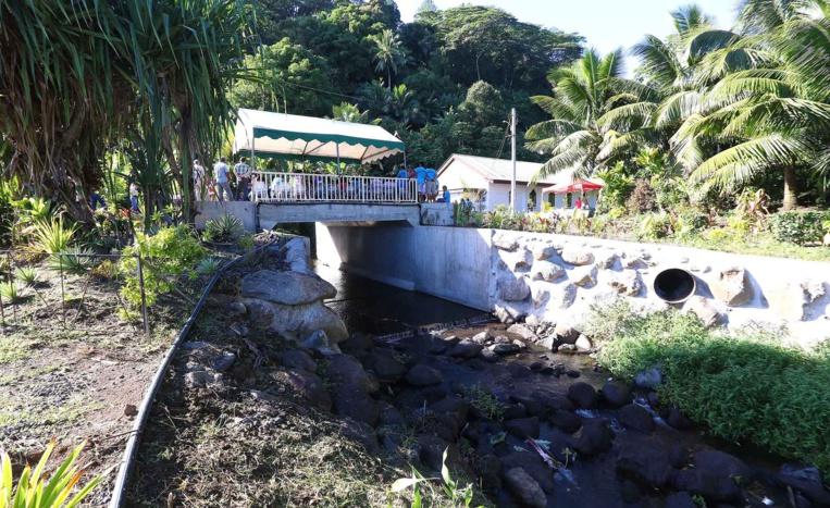 Le gouvernement en visite à Orofara, Nivee et Papara