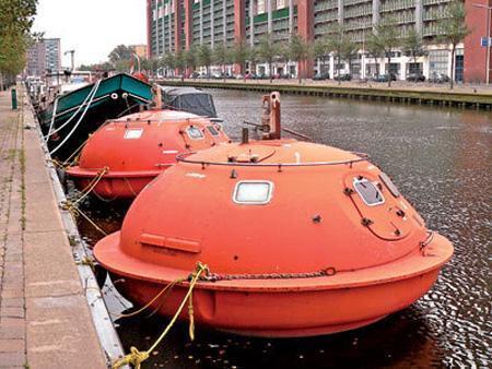 Votre propre capsule de survie est disponible dans cet hôtel de La Hague en Hollande.