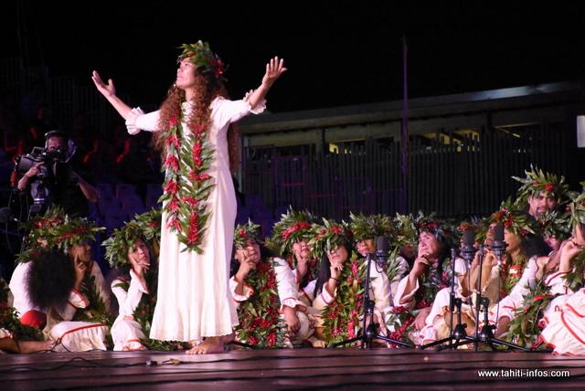 La prestation de Tama nō Aimeho Nui (chant) en photos