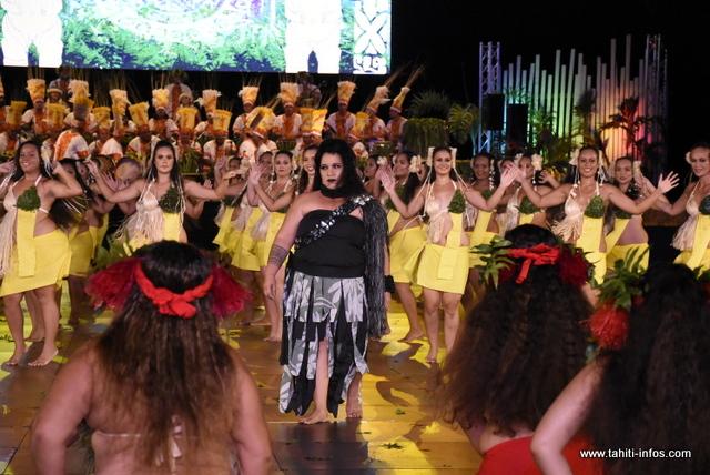 "Heiva i Tahiti : la prestation de ""Pupu 'Ori Tamari'i Vaira'o"" en photos"