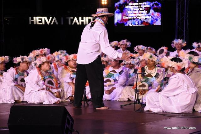 """La prestation de """"Tamari'i Rapa nō Tahiti"""" en photos"""