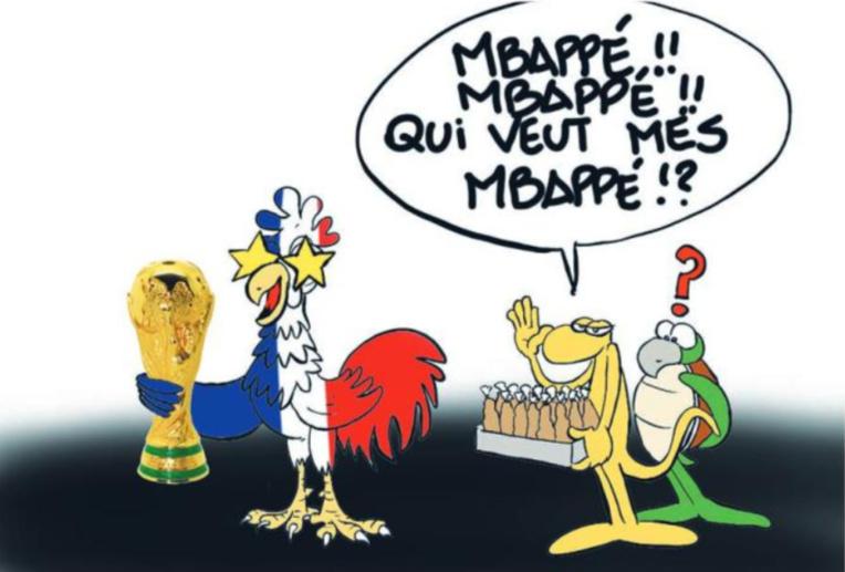 """"""" La France championne du monde """" par Munoz"""
