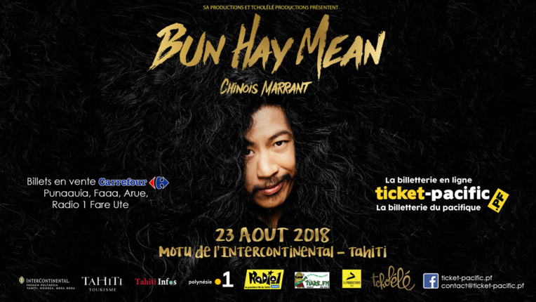 Bun Hay Mean, Le chinois marrant en spectacle à Tahiti