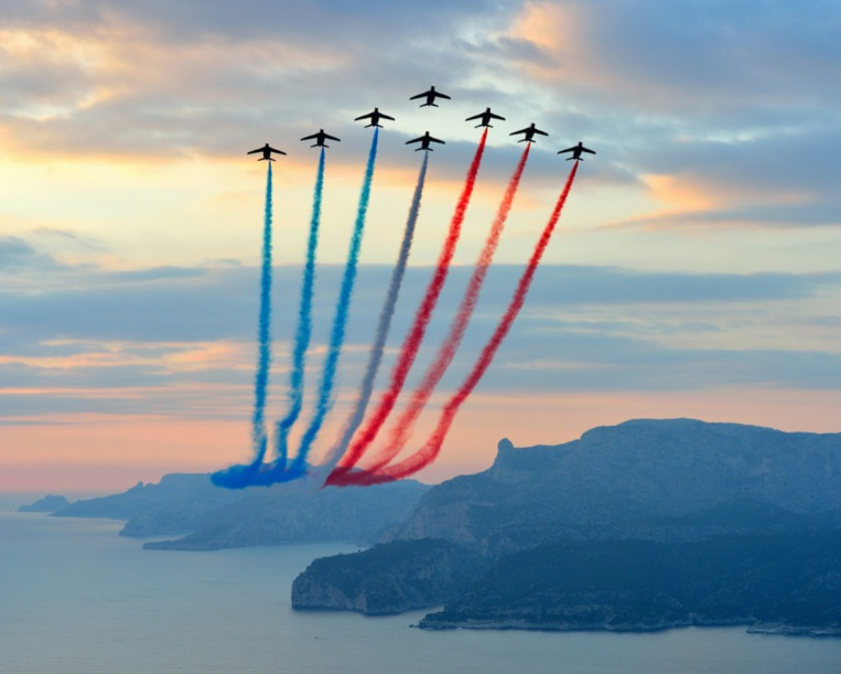 Page enfant : Patrouille de France, l'excellence malgré l'incident