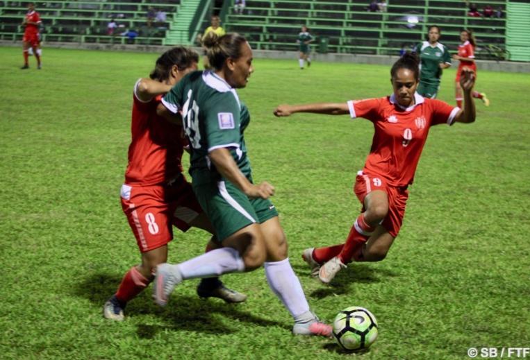 La n°9 Ninauea Hioe a marqué trois fois en deux matchs