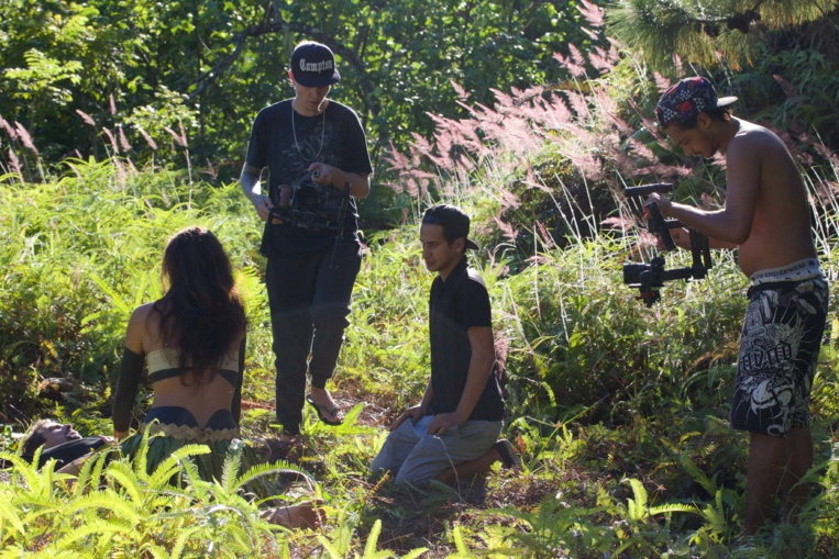 Clip sauvage pour un Dubstep made in Tahiti