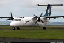 Atterrissage sur le ventre pour un Bombardier Q-300 d'Air New Zealand