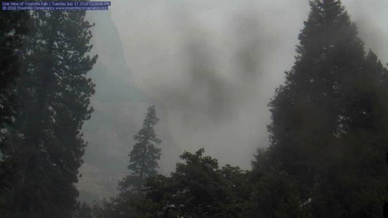 Un incendie menace le parc naturel de Yosemite en Californie