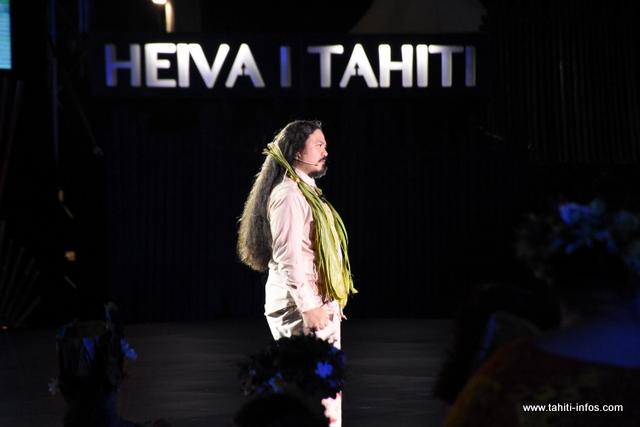 "Heiva i Tahiti : ""L'année prochaine, je céderai le flambeau"" (Moana'ura Teheiura)"