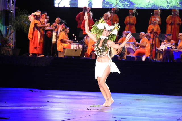 Ori i Tahiti vainqueur en Hura Tau