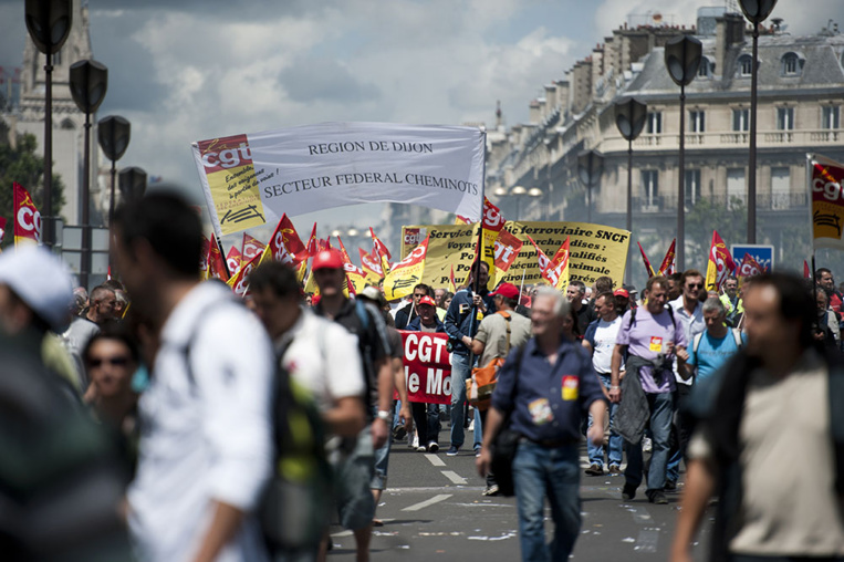 SNCF: nouvelle grève vendredi à l'appel de la CGT