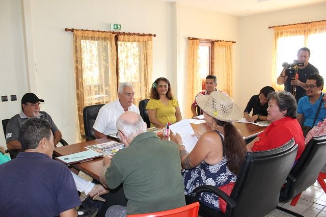 Une rencontre s'est tenue le 13 juillet à la mairie de Taravao entre les représentants du collectif opposés au projet et les maires de Taiarapu Est et Taiarapu Ouest.