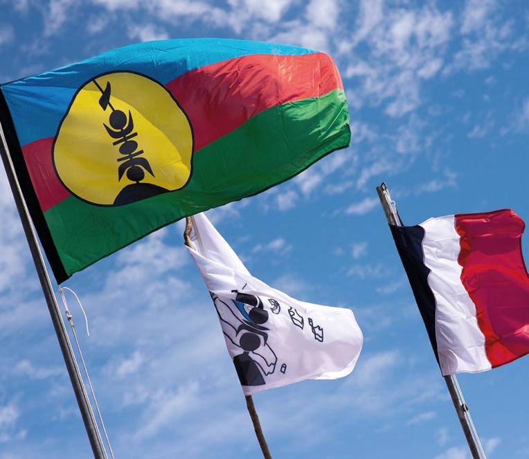 """N-Calédonie: le FLNKS appelle à la """"mobilisation générale"""" pour le reférendum"""