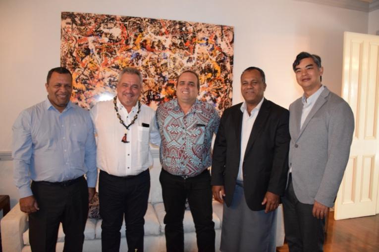 Heremoana Maamaatuaiahutapu en mission aux Fidji