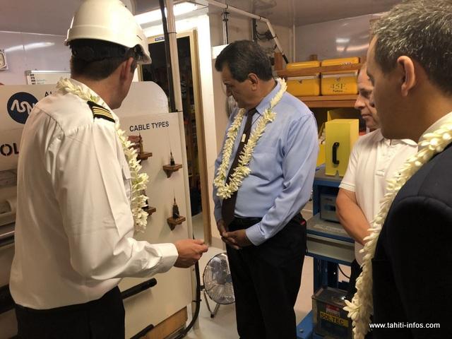 Natitua représente quatre types de câble qui seront posés en fonction de la structure des fonds marins.