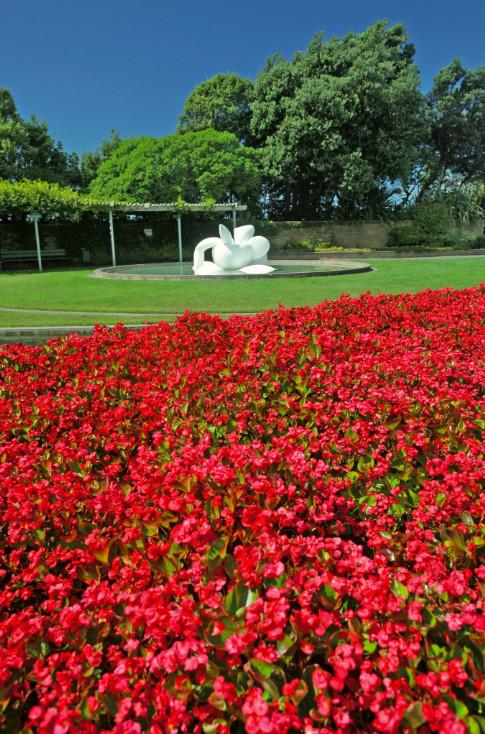 Un concentré de Napier : de l'art et des fleurs, la beauté conjuguée dans ses registres les plus élégants…