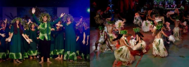 Te Noha nō Rotui et Mo'orea Swing Boys ont remporté les deux grands prix de ce Heiva i Aimeho Nui.