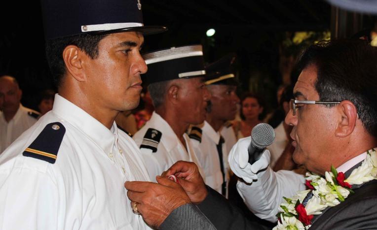 Ordre de Tahiti Nui : la douane et la gendarmerie mises à l'honneur