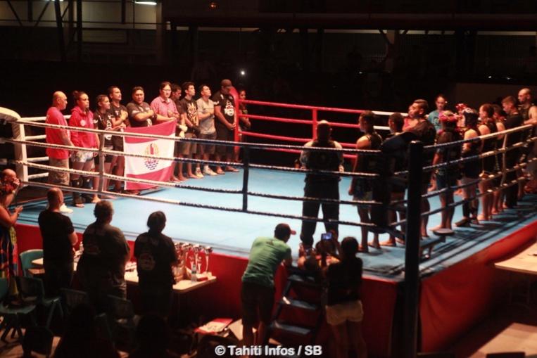 Cinq combats internationaux étaient au programme