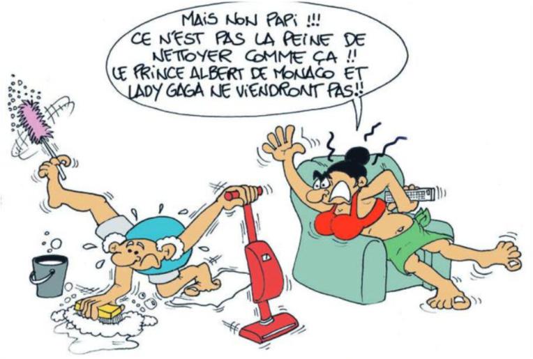 """"""" Des stars en vacances au fenua """" vu par Munoz"""