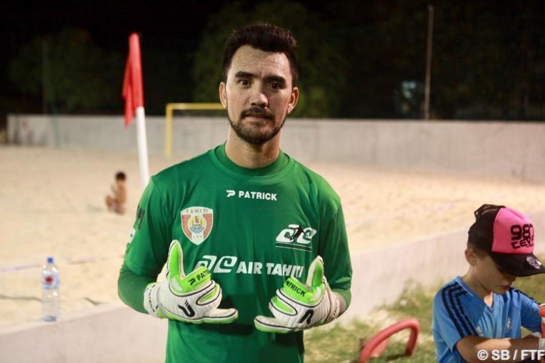 Jonathan Torohia, coach de l'équipe Air Tahiti-Teva Import
