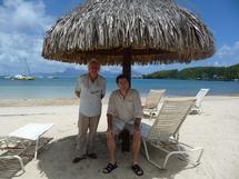François Morel et Olivier Saladin...bons baisers de Tahiti