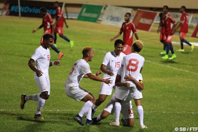 Pas moins de six buts ont été marqués par notre sélection U19