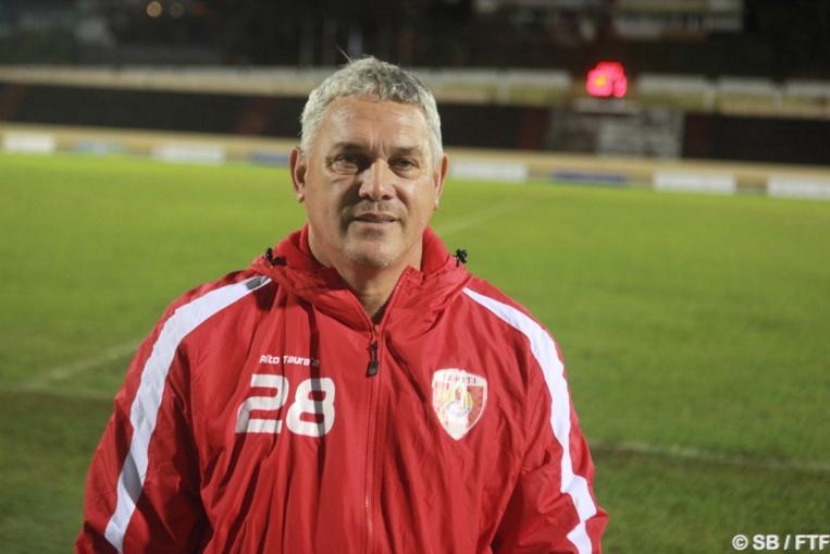Bruno Tehaamoana, coach de la sélection U19