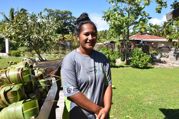Teanuanua Vahinehau, 24 ans, Anaa