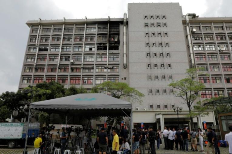 Neuf morts dans l'incendie d'un hôpital de Taïwan