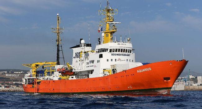 Migrants: le port de Sète prêt à accueillir l'Aquarius si Paris donne son accord
